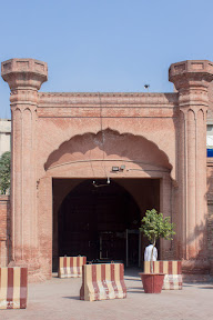 Fort like main entrance in the Haveli