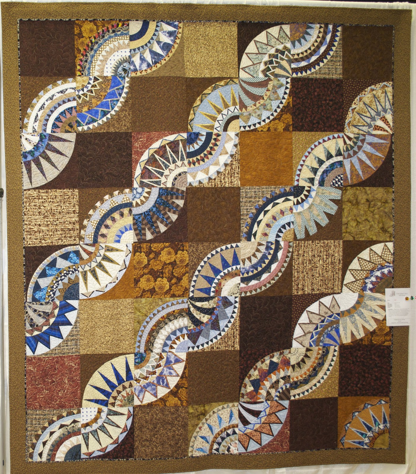 Beauty By Aurthi New York New York: Wonkyworld: Northwest Quilters Show Pictures