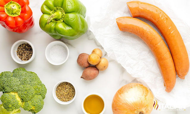 sausage and potatoes recipe ingredients