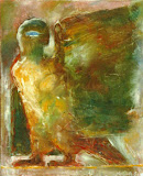 creature / huile toile / 40x50 / 1993