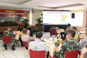 Pangdam Jaya Bersama Kapolda Metro Jaya Berikan Arahan Dalam Rangka Kesiapan TNI Polri Mengamankan Pilkada Tangerang Selatan