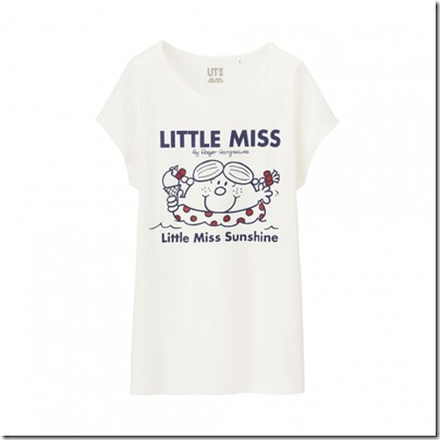 UNIQLO Mr. Men Little Miss UT Graphic T-Shirt woman 01