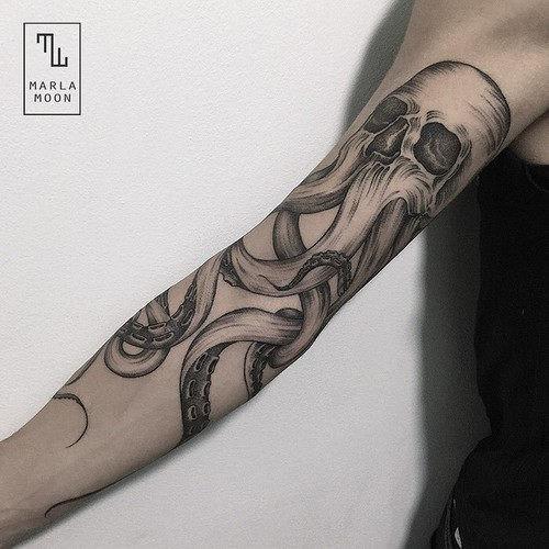este_requintado_polvo_tatuagem_de_caveira