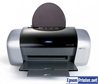 How to reset Epson C84 printer
