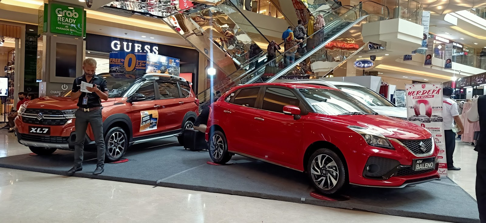 Pameran Mobil Suzuki Paragon Mall