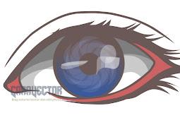 Tutorial Infinite Design : Membuat Vector bagian mata dan lensa bercorak