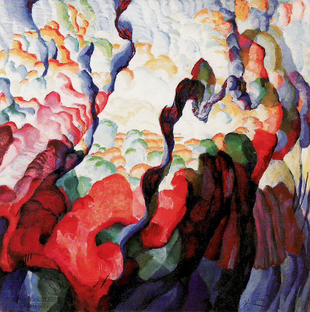 František Kupka - Irregular Forms, Creation