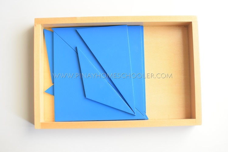 Blue Triangles / Second Rectangular Box