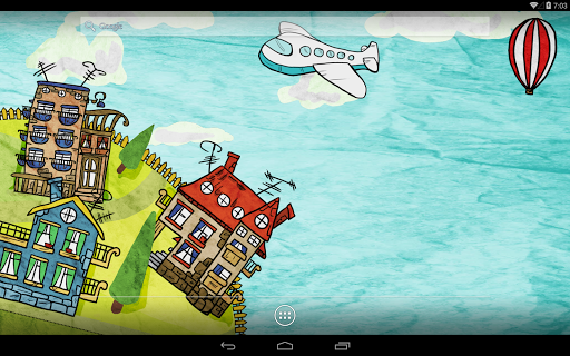 Paperland Season LiveWallpaper для планшетов на Android