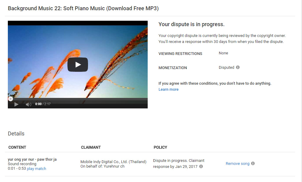 Youtubes Background Music Copyright Policy – Lapsi