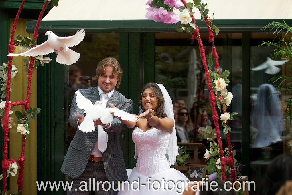 Bruidsreportage (Trouwfotograaf) - Foto van bruidspaar - 234