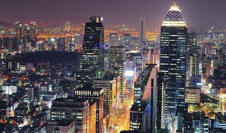 Gangnam Diatrict Korea Selatan