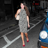 WWW.ENTSIMAGES.COM -     Lizzie Cundy at     Claire's - launch party at Kettners, 29 Romilly Street, London April 24th 2013                                                  Photo Mobis Photos/OIC 0203 174 1069