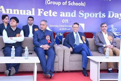 श्री रावतपुरा सरकार इंटरनेशनल स्कूल में बाल मेला एवं ऐनुअल स्पोर्ट्स डे का आयोजन