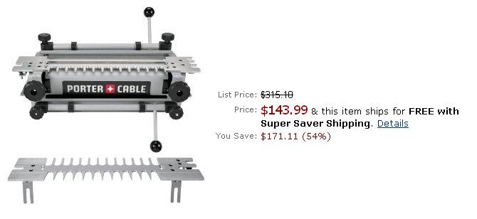 Porter Cable 4212 12 Inch Deluxe Dovetail Jig For Sale