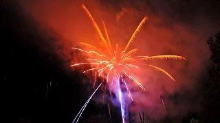 2/2 Tűzijáték - Bárdudvarnok Falunap 2015