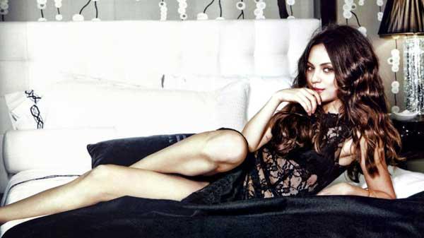 Mila Kunis, seductora