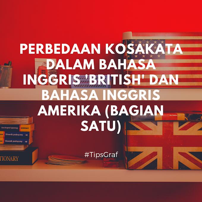 Perbedaan Kata-Kata British English dan American English Bagian Pendidikan (Bagian 1)