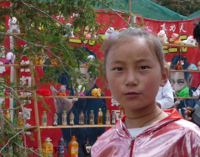 Chine. Yunnan.Shangri la Course hippique annuelle - P1250772.JPG