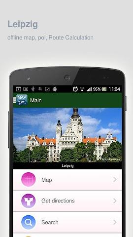 Screenshot 1 Karte von Leipzig offline