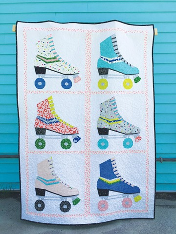 hot skates quilt pattern by kidgiddy