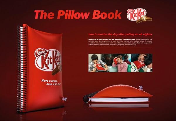La marca Kit Kat lanza al mercado un nuevo Cuaderno Almohada