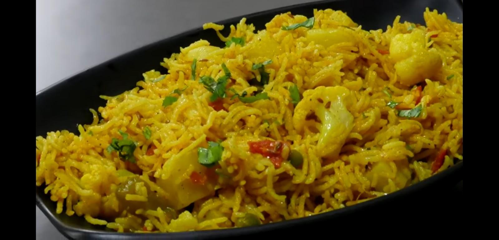 tehri recipe-how to make tehri recipe