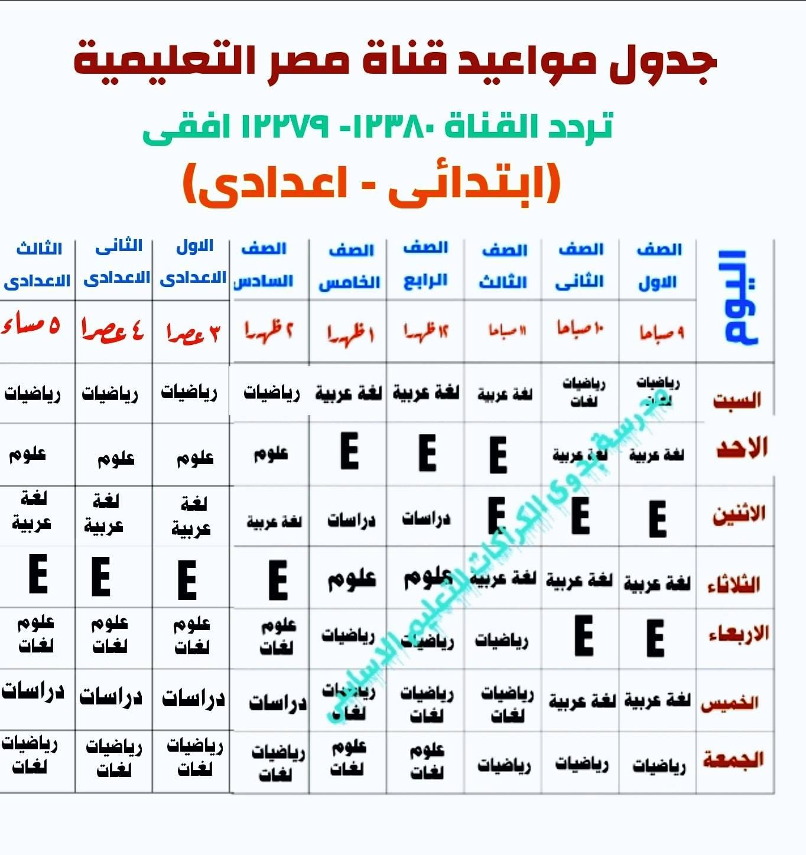 مواعيد قناة مصر التعليمية 2021 للصف الثاني الثانوي,مواعيد قناة مصر التعليمية 2021 للصف الثالث الثانوي,جدول مواعيد قناة مصر التعليمية 2021,مواعيد قناة مصر التعليمية 2020 للصف الثاني الثانوي,مواعيد دروس قناة مصر التعليمية 2021 للصف الثالث الثانوي,مواعيد دروس قناة مصر التعليمية 2020 للصف الأول الثانوي,مواعيد دروس قناة مصر التعليمية 2021 للصف الثاني الثانوي,مواعيد دروس قناة مصر التعليمية 2020 للصف الثالث الإعدادي