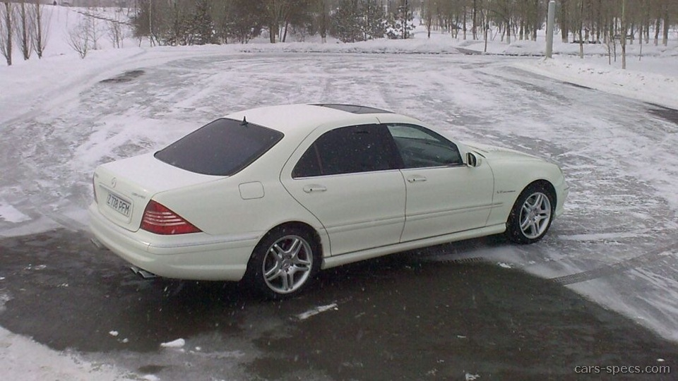 2002 Mercedes Benz S Class S55 Amg Specifications