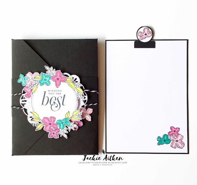 Floral Frames, Stampin Up, SU cards, Foliage Frame Framelits