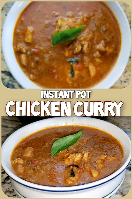 Instant Pot Chicken Curry Indian style