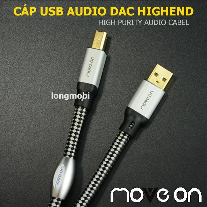 cap usb audio dac move on