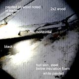 starboard keel area