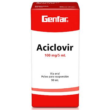 Aciclovir Genfar 100Mg