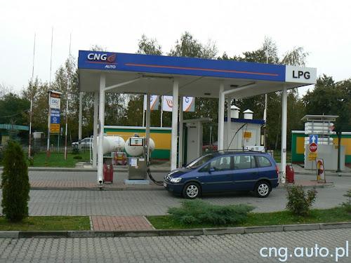 Dębica - zamknięta stacja tankowania CNG