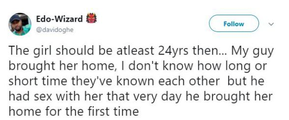 """Same Girl, Same House & Same Day"" –  Guy Shares Story Of How 3 Of His Friends Slept With A Lady"