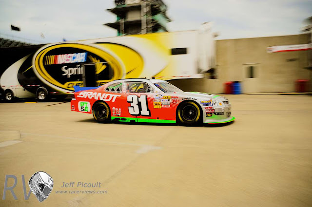 Nascar from Indy