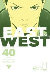 """Actualización 18/12/2018: Se agrega el número #40 de East of West, por GinFizz para Prix-Comics y How To Arsenio Lupin. """"SALMO 137"""" Y así, el hijo de la Muerte se encontró con la Muerte en el camino a Jerusalén. Selah."""