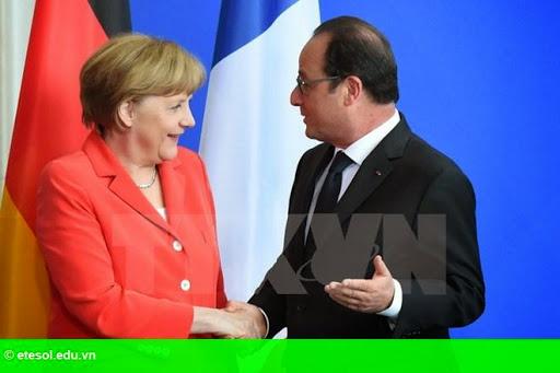 Hình 1: Đức và Pháp kêu gọi Hy Lạp duy trì đàm phán với chủ nợ quốc tế