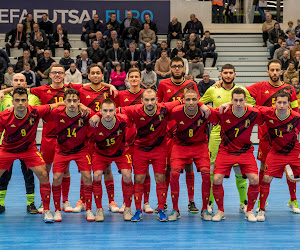 Futsal: mauvaise opération pour les Diables Rouges