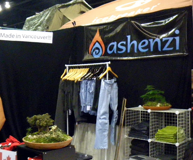 Miniature landscapes exposed at Ashenzi booth at Vacouver Outdoor Adventure and Travel Show