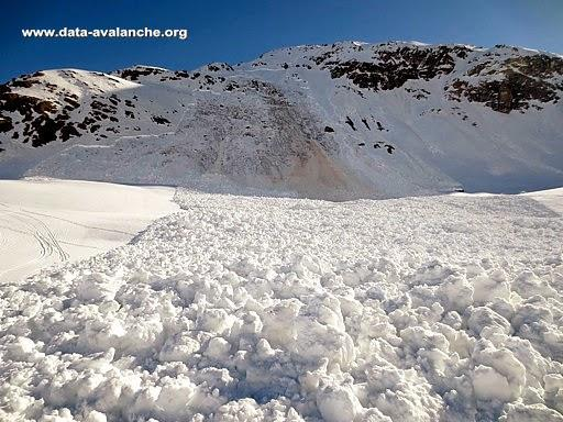 Avalanche Haute Maurienne, secteur Bonneval sur Arc, Ouille Mouta - Photo 1 - © Horaud Radu