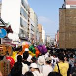 asakusa samba festival in Asakusa, Tokyo, Japan