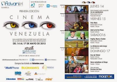 CINEMA VENEZUELA LANZA 1era EDICION EN MIAMIS