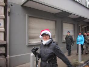 Photo: Colette als kerstvrouw