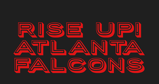 Rise Up! Atlanta Falcons free banner