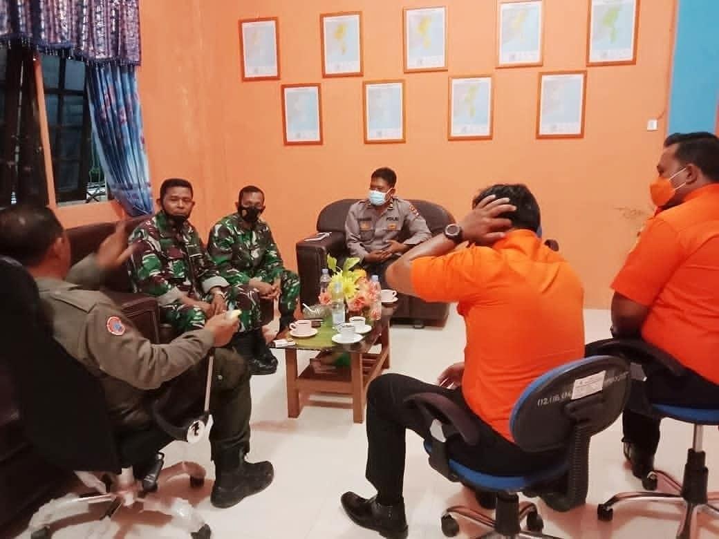 Kodim 1004/Kotabaru ikuti Rakor Rencana Apel Kesiapsiagaan Bencana Tahun 2021