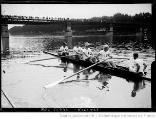 1919-La saison de l'équipe de France d'aviron