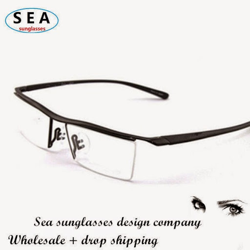 Fahion glasses Semi frame TR90 brand MEN oculos de grau