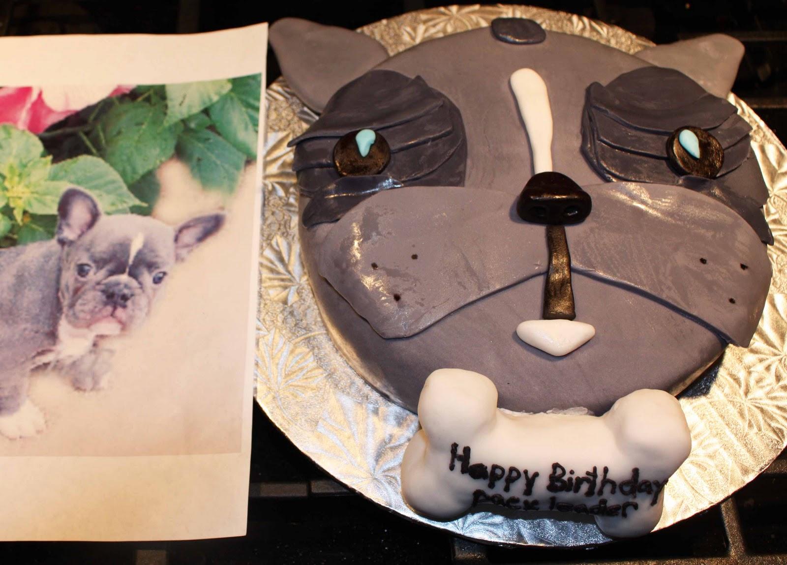 Cup O Cake Puppy Dog Face Birthday Cake